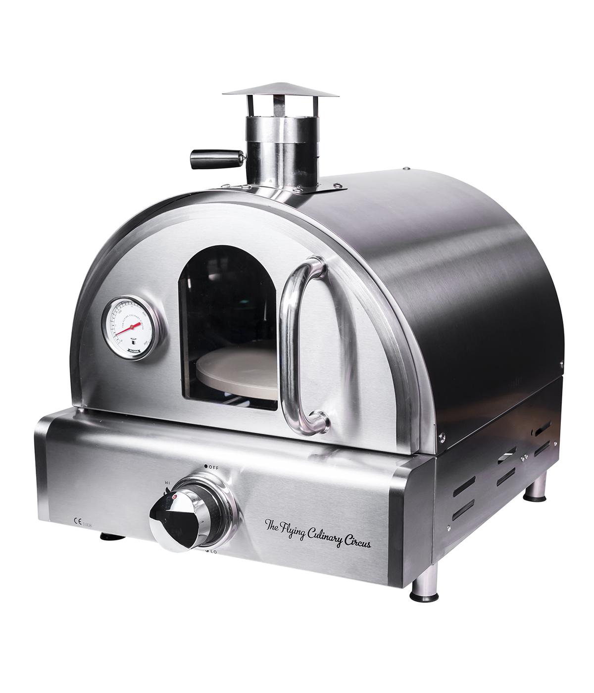 FCC-G-19420-00 pizza oven front door closed